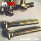 Flat Head Carriage bolt GB10 Countersunk head square neck bolts-Infly Fasteners Manufacturers