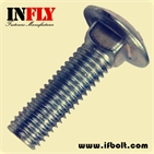 Carriage Bolt DIN603 Mushroom head square neck bolts - Infly Fasteners